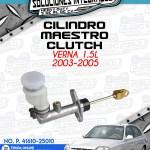CILINDRO MAESTRO CLUTCH VERNA 1.5L 2003-2005