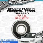 BALERO FLECHA PRINCIPAL TRANSMISIÓN TRASERO I10 1.1L