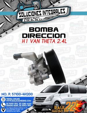 BOMBA DIRECCION H1 VAN THETA 2.4L