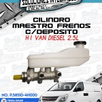 CILINDRO MAESTRO FRENOS CON DEPOSITO H1 VAN DIESEL 2.5L