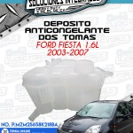 DEPOSITO ANTICONGELANTE DOS TOMAS FORD FIESTA 1.6L 2003-2007