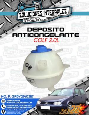 DEPOSITO ANTICONGELANTE GOLF 2.0L