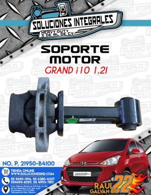 SOPORTE MOTOR GRAND i10 1.2L