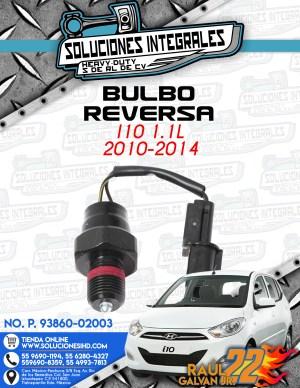 BULBO REVERSA i10 1.1L