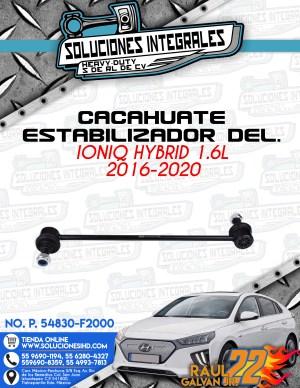 CACAHUATE ESTABILIZADOR DELANTERO IONIQ HYBRID 1.6L 2016-2020