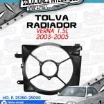 TOLVA RADIADOR VERNA 1.5L 2003-2005