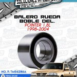 BALERO RUEDA DOBLE DELANTERO POINTER 1.8L 1998-2004