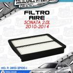 FILTRO AIRE SONATA 2.0L 2010-2014