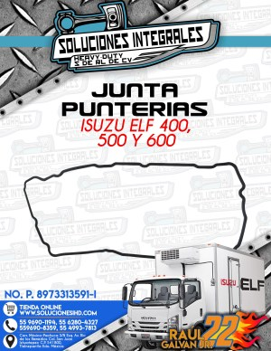 JUNTA PUNTERIAS ISUZU ELF 400 450 500 y 600