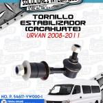 TORNILLO ESTABILIZADOR CACAHUATE URVAN 2008-2011