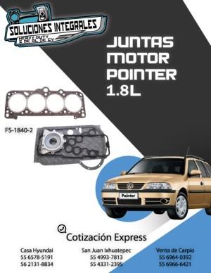 JUNTAS MOTOR POINTER 1.8L 04/09