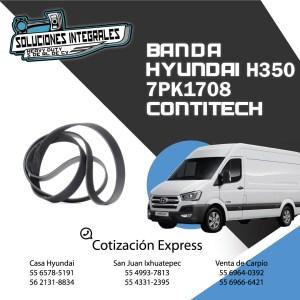 BANDA HYUNDAI H350 7PK1708 CONTITECH
