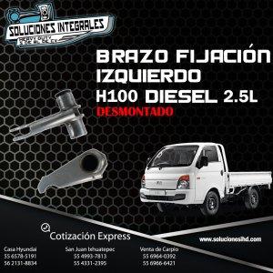 BRAZO FIJACIÓN DESMONTADO IZQUIERDO H100 DIESEL 2.5L
