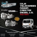 CAJA VELOCIDADES REMAN NISSAN CABSTAR DIESEL 2.5L