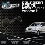 COLADERA ACEITE ATOS 1.0/1.1L 00-12