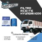 FILTRO ACEITE HYUNDAI H200 ORIGINAL