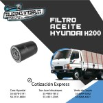 FILTRO ACEITE HYUNDAI H200