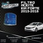 FILTRO ACEITE KIA FORTE 15-18