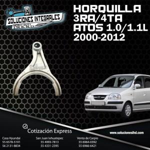 HORQUILLA DE 3RA Y 4TA  ATOS 1.0L 1.1L  00-12
