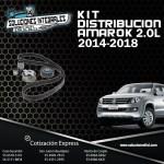 KIT DISTRIBUCION AMAROK 2.0L 2014-2018