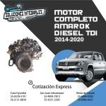 MOTOR COMPLETO AMAROK DIESEL 2014-2020 NUEVO