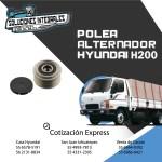 POLEA ALTERNADOR HYUNDAI H200