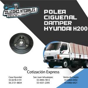 POLEA CIGÜEÑAL DAMPER HYUNDAI H200