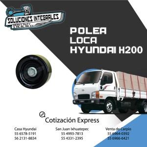 POLEA LOCA HYUNDAI H200