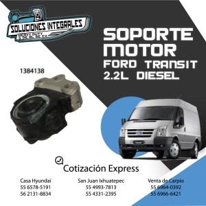 SOPORTE MOTOR FORD TRANSIT 2.2L DIESEL