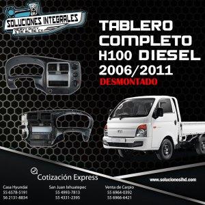 TABLERO DESMONTADO COMPLETO H100 DIESEL 2006-2011