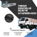 TAPON DE DRENAJE ACEITE HYUNDAI H200