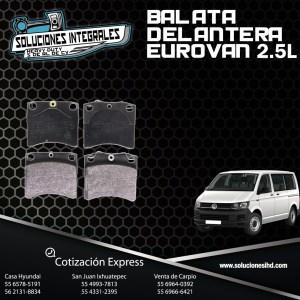BALATA DELANTERA EUROVAN 2.5L 96/04