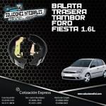 BALATA TRASERA TAMBOR FORD FIESTA 1.6L 00