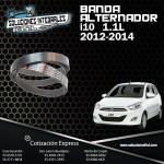 BANDA ALTERNADOR I10 1.1L 12-14