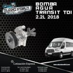 BOMBA AGUA TRANSIT 2.2L TDI 2018