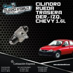 CILINDRO RUEDA TRASERA DER/IZQ CHEVY 1.6L