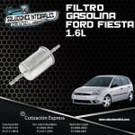 FILTRO GASOLINA FORD FIESTA 1.6L