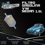 FILTRO GASOLINA VW SEDAN 1.6L