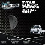 MANIJA EXTERIOR IZQUIERDA H-100 2.5L DIESEL