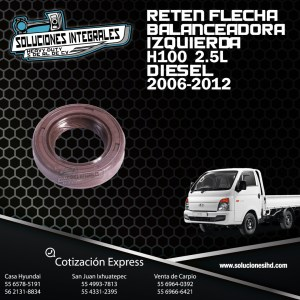 RETEN FLECHA BALANCEADORA IZQUIERDA H100 2.5L DIESEL 06/12