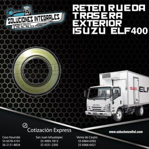 RETEN RUEDA TRASERA EXTERIOR ISUZU ELF 400
