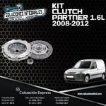 KIT CLUTCH PARTNER 1.6L 08-12