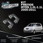 KIT FRENOS CALIPER ATOS 1.0L 00-04