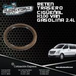 RETEN CIGÜEÑAL TRASERO H100 VAN 2.4L GASOLINA