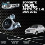 SOPORTE MOTOR TRASERO ATTITUDE 1.6L 06/11