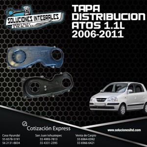 TAPA DISTRIBUCION COMPLETA ATOS 1.1L 06-11