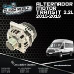 ALTERNADOR MOTOR TRANSIT 2.2L 2015-2019