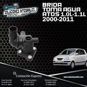 BRIDA TOMA AGUA ATOS 1.0L/1.1L 00-11