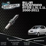 BUJIA ENCENDIDO ATOS 1.0L-1.1L 00/11