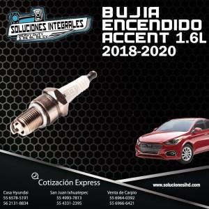 BUJIA ENCENDIDO ACCENT 1.6L 18-20